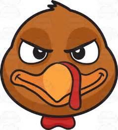 Turkey Clip Art Cartoon Faces