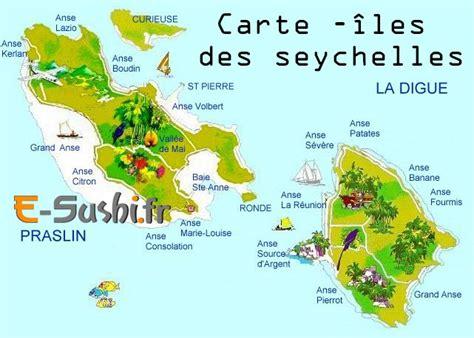 Carte Du Monde Avec Les Seychelles by Iles Des Seychelles Sur La Carte Du Monde