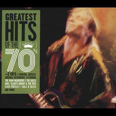Bmg Artists by Greatest Hits Of The 70 S Bmg Special Products By