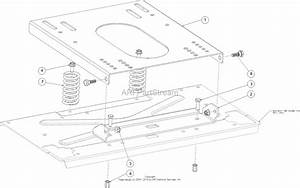 Mtd 17arcbds099  247 204000   Zs6500   2016  Parts Diagram For Seat Adjustment