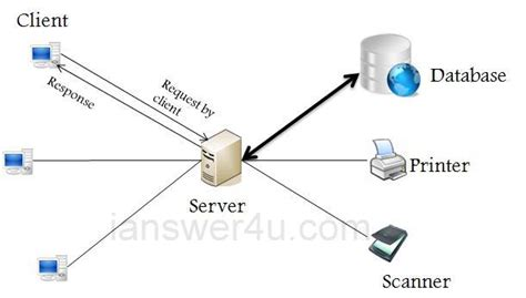 Client Server Network Architecture  I Answer 4 U