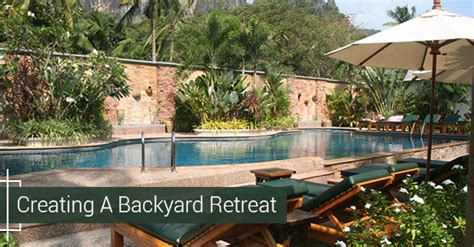 How To Turn Your Backyard Into A Relaxing Retreat
