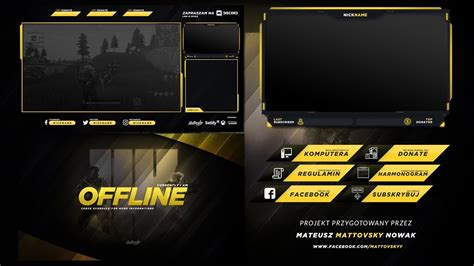 twitch stream overlay template   youtube
