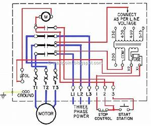 Low Voltage Controled Motor Wiring System Fig
