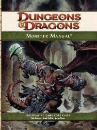 Monster Manual  4e