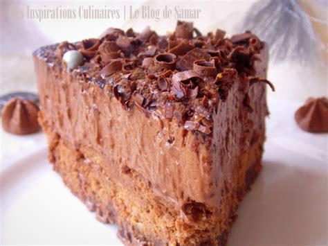cuisine espagnole facile gateau mousse au chocolat comme un trianon le cuisine de samar