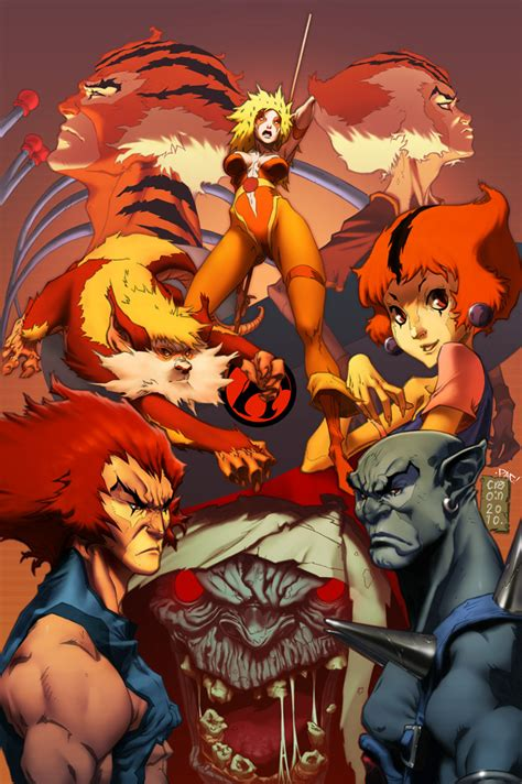 Thundercats Colors By Pacman23 On Deviantart