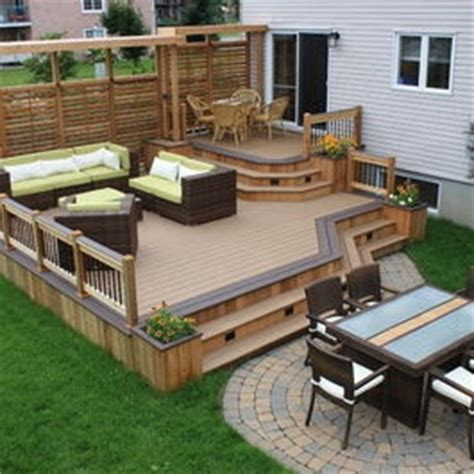 17 best ideas about patio deck designs on