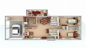 How Big Is 800 Sq Ft 3 distinctly themed apartments 800 ...