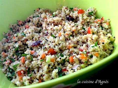 recettes de julie andrieu cuisine quinoa recettes salade