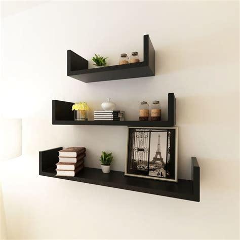 mensole libri fabulous mensole a muro per libri mensole per pareti nero