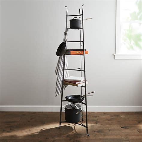 enclume standing  tier pot rack crate  barrel