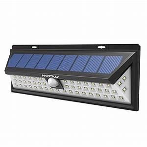 Spot Exterieur Avec Detecteur De Mouvement : mpow 54 led lampe solaire ext rieure tanche ip65 sans fil 800 lumens luminaire exterieur spot ~ Melissatoandfro.com Idées de Décoration