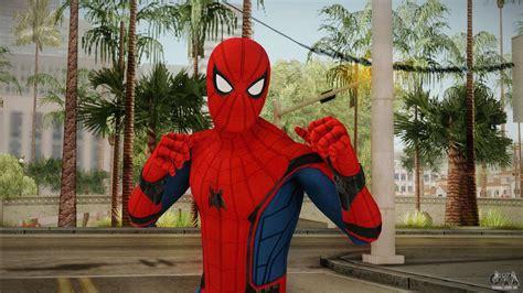 spiderman homecoming skin   gta san andreas