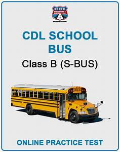 Cdl School Bus Online Practice Test
