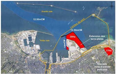 chambre de commerce cherbourg les travaux d 39 extension portuaire débutent à cherbourg