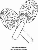 Coloring Pages Printable Fiesta Mayo Cinco Salsa Bongos Bongo Drums Maracas Getdrawings Playful Getcolorings Instruments Colorings Music sketch template