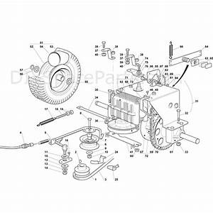 Mountfield R25m Tractor  2009  Parts Diagram  Page 6