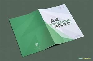 Free A4 Brochure Mockup | ZippyPixels