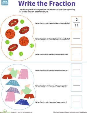 fraction practice part of a group 1 worksheet education com
