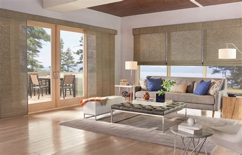 sliding panel blinds five window covering solutions for your sliding door