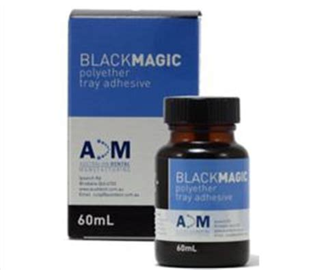 black magic rubber base adhesive