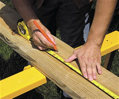 Measuring and Marking   Deck Building Skills   How to