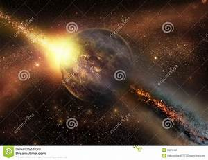 Space Armageddon Stock Photo - Image: 33212480