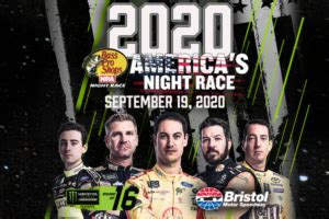 americas night race moves pivotal playoff spot nascar