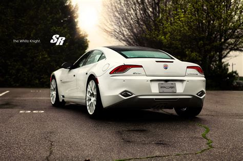 sr fisker karma es  debut   white knight