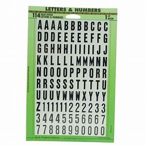 peel and stick letters numbers 1 pack shop your way With peel and stick letters for outdoor signs