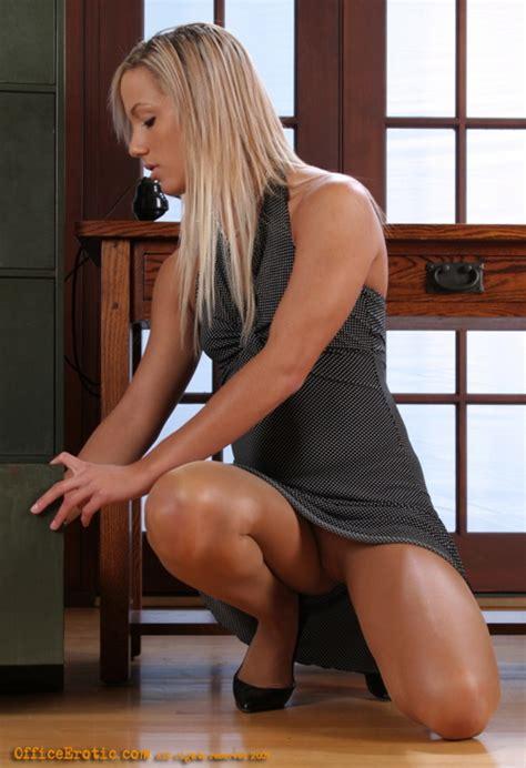 Hot Secretary Undresses In Her Boss Office XXX Dessert