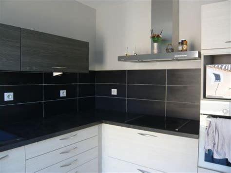 cuisine blanc et noyer credence cuisine noir et blanc crédences cuisine