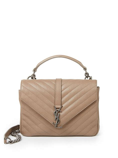 d2396def43 1354 x 1806 www.lyst.com. Saint laurent Monogram College Medium Quilted Leather  Bag .