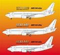 DACO 1/144 Boeing 737