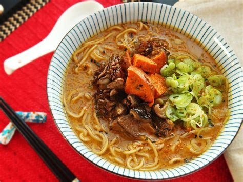 vegeterian recipes vegetarian ramen soup recipe