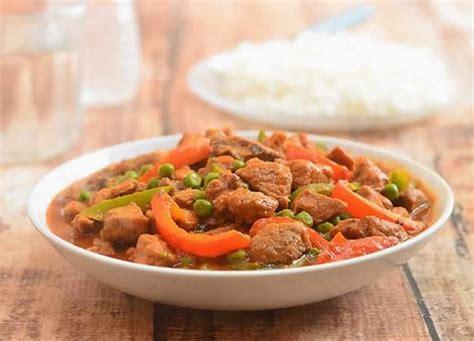 cuisiner un sauté de porc sauté de porc aux légumes au cookeo un délicieux plat