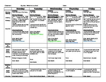 creative curriculum lesson plan template back to school preschool lesson plan september school ideas creative curriculum