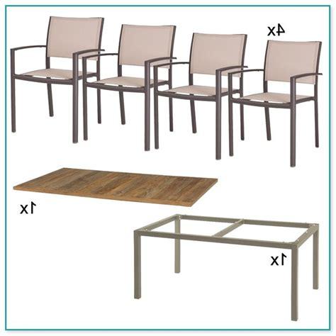 gartenmöbel 8 stühle gartenm 246 bel set aus aluminium