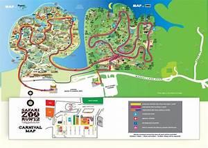 Singapore zoo map - Map of zoo Singapore (Republic of ...