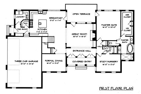 georgian floor plans georgian style house plans georgian house floor plans