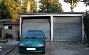 probleme maconnerie poser 2 portes de garage sur rail a With écoinçon porte garage