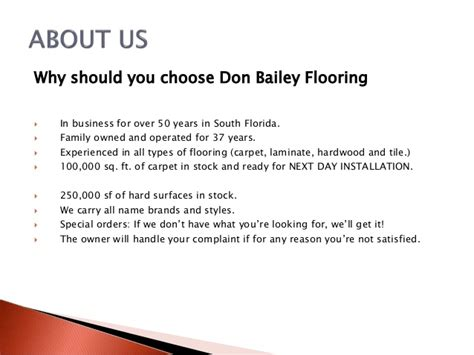 don bailey flooring billboard the best flooring at amazing prices