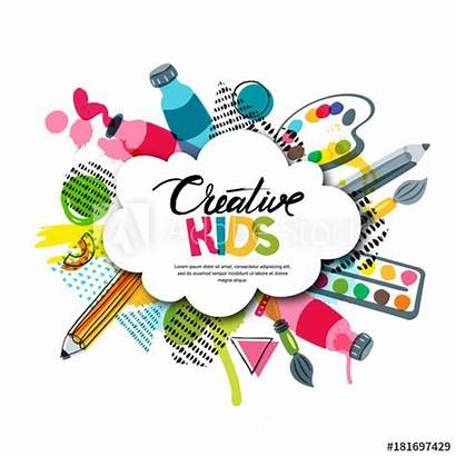 Craft Class Background Banner Poster Education Vector
