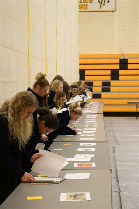 ewc agriculture department hosted ffa veterinary science contest