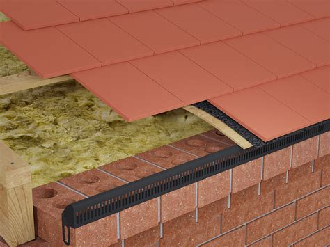 Corbelled Eaves by Corbel Eaves Vents 2 4m Length With 8 Fixing