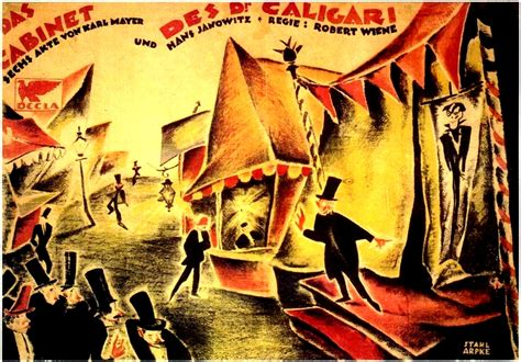 Dr Caligari Cabinet by The Cabinet Of Dr Caligari Marker