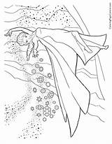 Frozen Elsa Coloring sketch template