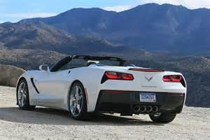 2014 Corvette Stingray Convertible White