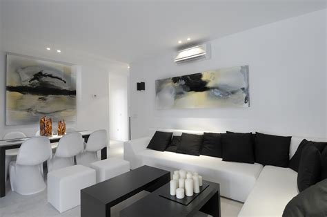 and black living room 17 inspiring wonderful black and white contemporary White